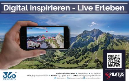 Schweizer Vorzeige-Destination Pilatus inspiriert mit interaktiver 360° Bergtour