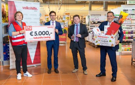 Spar spendet 5.000 Euro an Volkshilfe Liesing