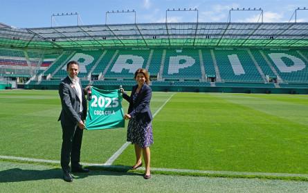 Coca-Cola übernimmt Teampartnerschaft des SK Rapid