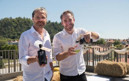 Grüner Bio-Wodka aus Graz