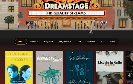 "Kultur-Neustart: Streamingplattform ""Dreamstage"" bietet Live-Konzerte"