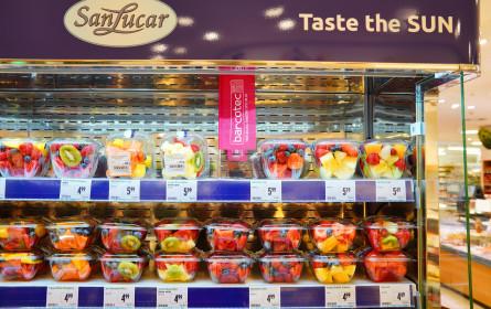 SanLucar vermeidet Lebensmittelverschwendung durch Einsatz des intelligenten Kühlschranks von Barcotec