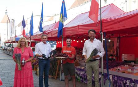 """""""Sommerliche Genusswochen"""": Provence-Markt bis 15.8. zu Gast in Wels"""