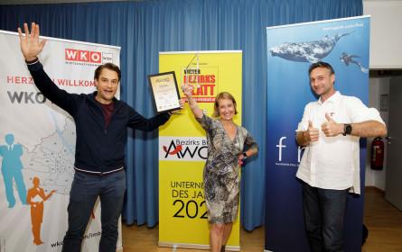 Himmelhoch gewinnt den Bezirks Business Award 2020