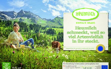 Heumilch startet mit Artenvielfalt-Kampagne