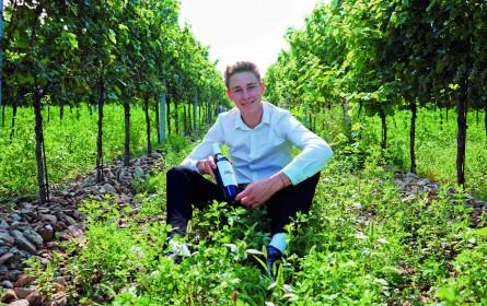 Leo Hillinger verifiziert seine ersten eigenen Weine