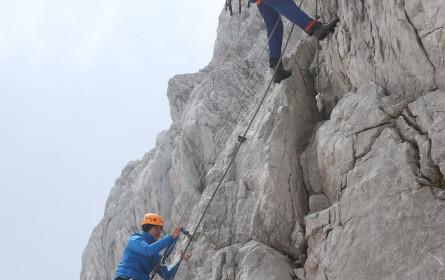 Drei streamt live erstmals in 360 Grad live vom Dachstein-Gipfel