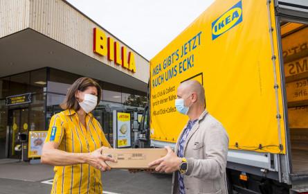 Ikea baut erfolgreiche Kooperation mit Billa aus
