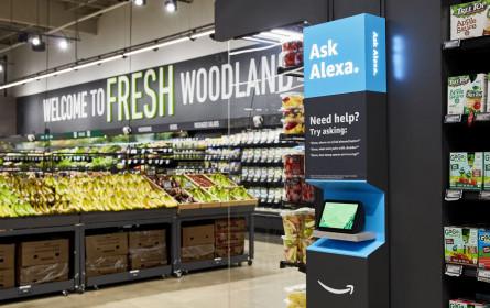 Online kaufen, im Shop abholen: Amazon startet ersten Fresh-Lebensmittelmarkt
