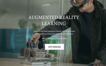 Create: Augmented Reality Learning-Webinar am 15. September