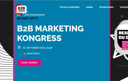 Gratis zum B2B-Marketing Kongress