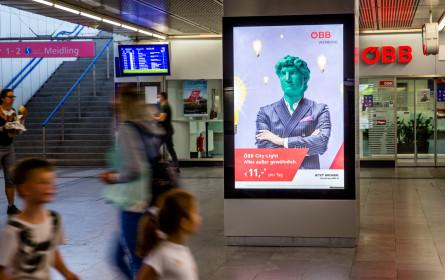 """ÖBB-Kampagne: """"Alles außer gewöhnlich"""""""