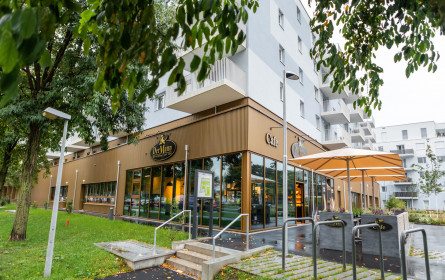 Bäckerei Der Mann eröffnet fünfte Filiale in Wien Floridsdorf