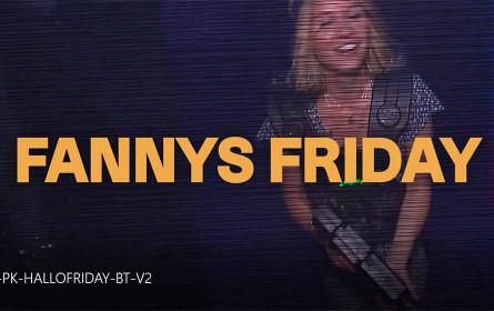 """ORF 1 sagt """"Hallo Österreich"""" und lädt zu """"Fannys Friday"""""""