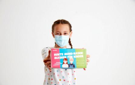 Kindermasken der Hygiene Austria bei Billa, Merkur, Penny, Bipa und Sutterlüty erhältlich