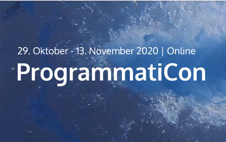 ProgrammatiCon findet virtuell statt