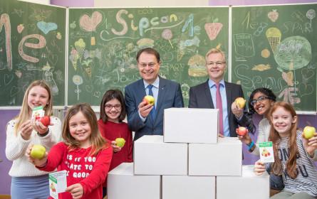 Spar und Sipcan sorgen für weniger Zucker am Schulbuffet