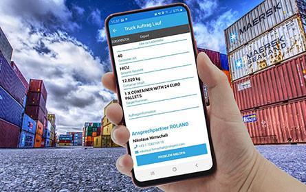 Jetzt wird auch der Container digital