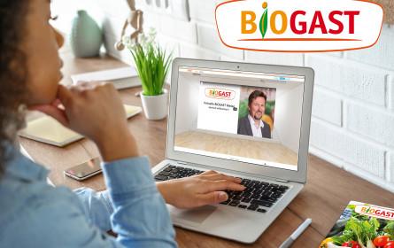 Erste virtuelle Biogast Messe ein Erfolg