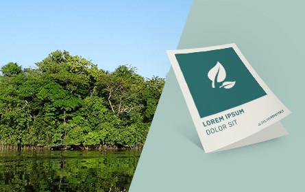 Nachhaltig werben – mit klimaneutralen Druckprodukten auf Recyclingpapier