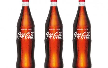 Die Coca-Cola 1 Liter-Mehrweg-Glasflasche ist da