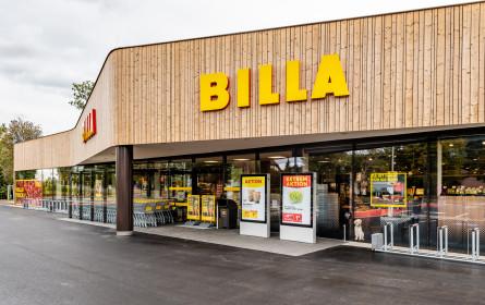 Volles Leben in der neuen Billa-Filiale in Gloggnitz