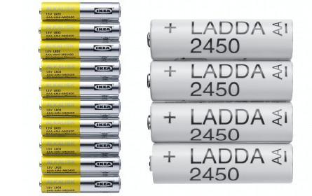 Ikea streicht Einweg-Batterien aus dem Sortiment