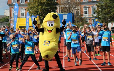 250 Teilnehmer bei Lidl Österreich Schullauf in Schwechat