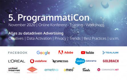 Datadriven Marketing-Konferenz mit L'Oréal, YouTube, Adobe, Facebook
