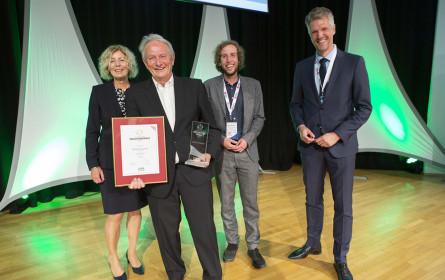 "Gerhard Woerle erhielt ""Großen Preis der Industrie"""