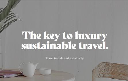 Exklusiv reisen, aber nachhaltig