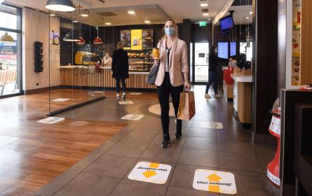 McDonald's ist weiterhin für seine Gäste da