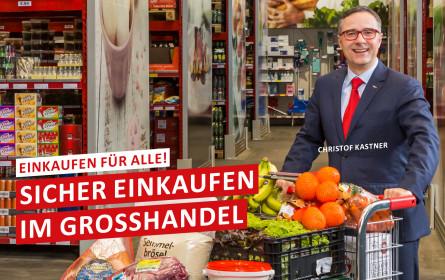 Kastner: Sicher einkaufen im Großhandel für alle