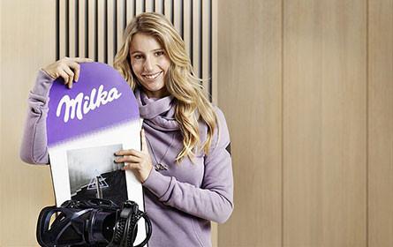 Snowboard-Star Anna Gasser wird neues Milka Testimonial