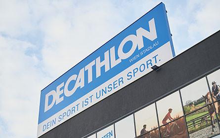 Decathlon-Filiale in Wien Nord hat ihre Pforten geöffnet