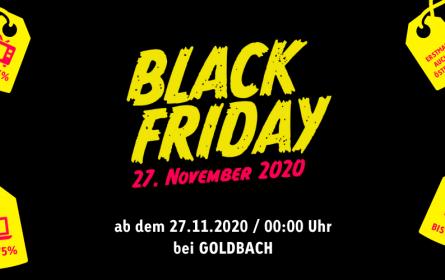 Black Friday & Cyber Monday bei Goldbach