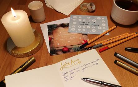 Weihnachtskarten aus dem Online-Kartenshop von SOS-Kinderdorf