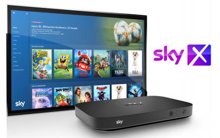 Neue Features und Angebote rund um das Sky X Streaming-Fernsehen in Österreich
