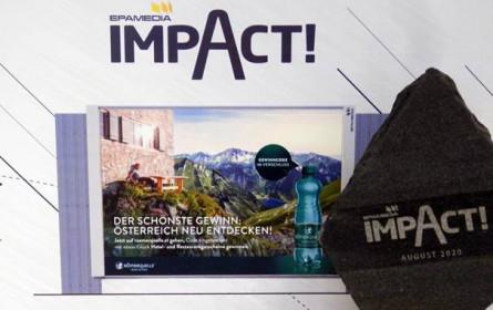 Impact-Award der Epamedia für Römerquelles schönes Österreich