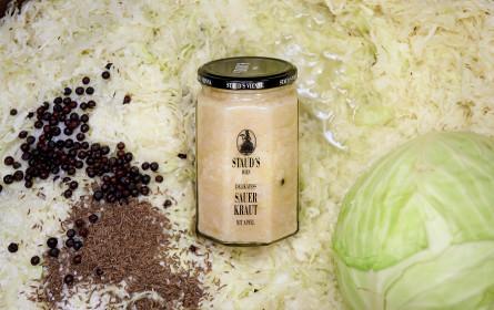 Stauds´s Wien verfeinert sein klassisches Sauerkraut