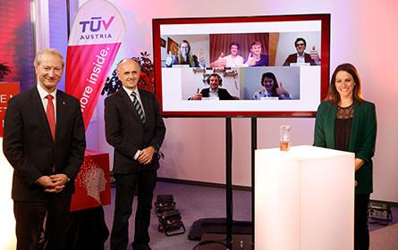 TÜV Austria Wissenschaftspreis für fünf Siegerprojekte