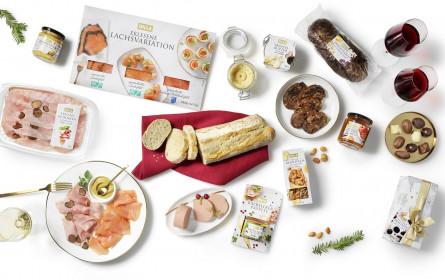 Billa Festtagssortiment: Österreich greift vermehrt zu Süßem, Käse und Lachs