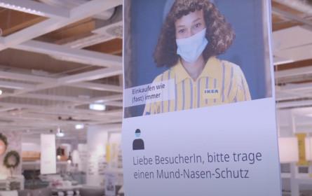 Sichere Wiedereröffnung für Ikea-Kunden und Mitarbeiter