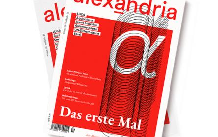 """""""alexandria"""" – das neue Wissenschaftsmagazin"""