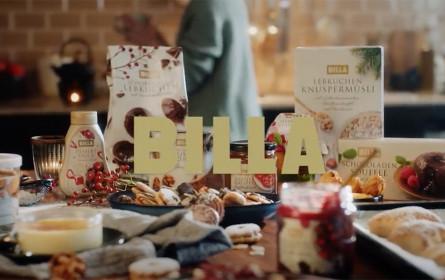 PKP BBDO kreiert Weihnachtskampagne für Billa