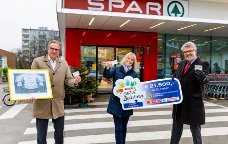 Spar übergibt 21.000 Euro-Spende an die Krebshilfe Steiermark