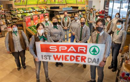 Spar Bitschnau eröffnet Markt wieder