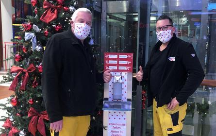 Sicheres Weihnachts-Shopping im Stadion Center