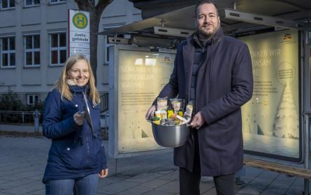1.000 Bio-Menüs für obdachlose Menschen