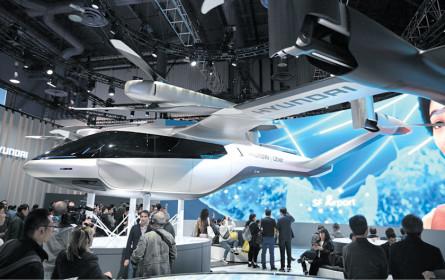 Hyundai plant Lufttaxi-Projekt mit Uber